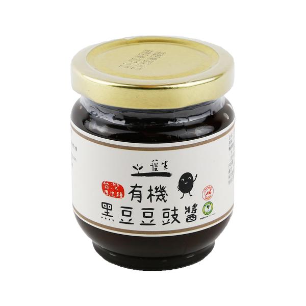 一箱12入有機台灣原生種黑豆豆豉醬