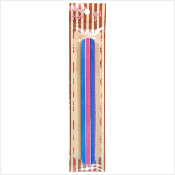 MEKO 專業直紋指甲銼 AB-064/磨甲銼/雙面磨甲銼