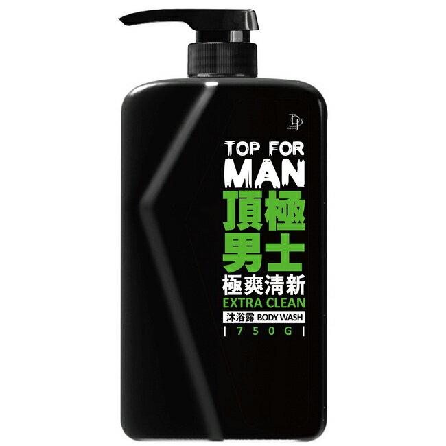 TOP FOR MAN極爽清新沐浴露750g