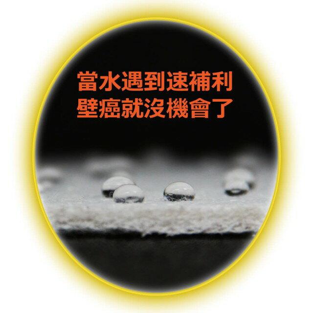 【速補利】壁癌防霉防水抓漏室內修繕塗料2公斤