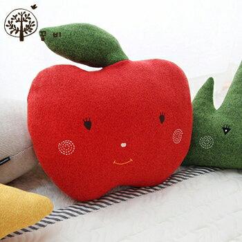 【淘氣寶寶】韓國DreamB立體造型抱枕-蘋果【100%韓國製造,可當靠枕使用】