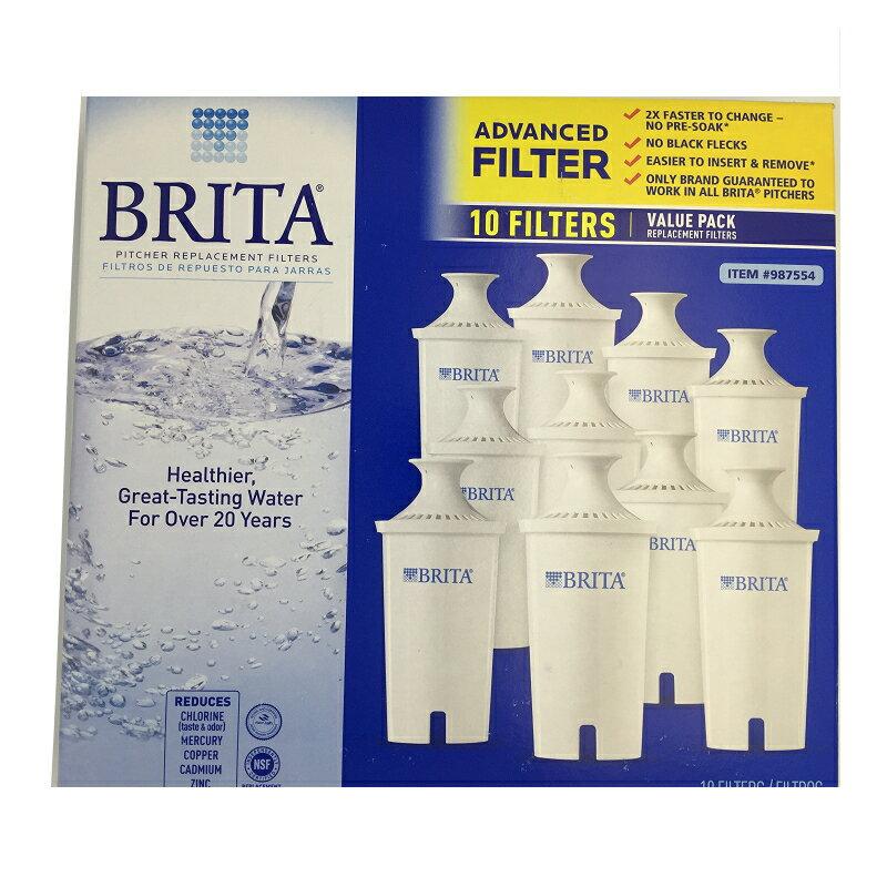 Brita 濾水壺專用圓形濾心/濾芯 (10入) (和舊款相容,效率更好可過濾151公升)