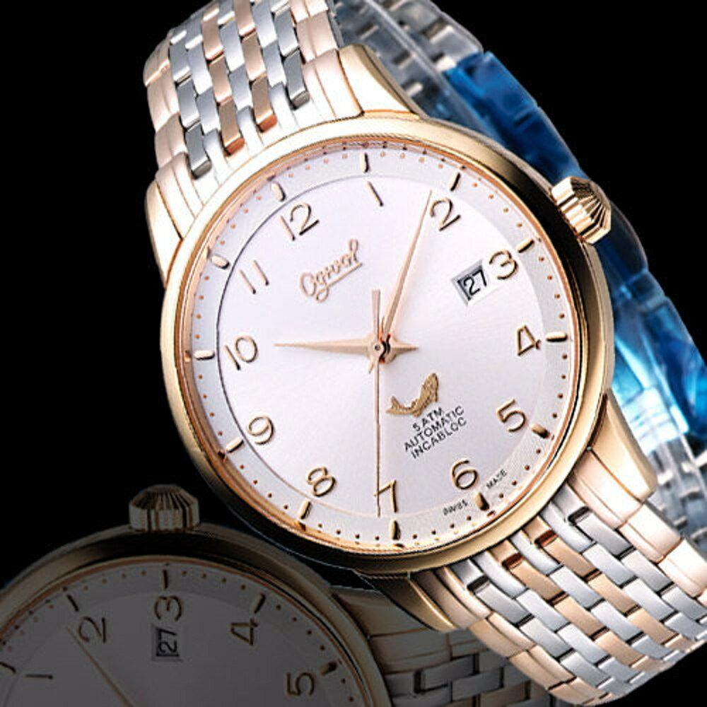 愛其華 錶 Ogival 爵士品味 機械錶(1929-24AGSR)雙色款