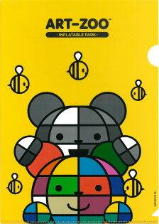 ART-ZOO特展L型文件夾-彩色熊&黑白熊款