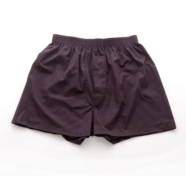 《ATTi TUDE》100%純天然棉舒適乾爽格紋平口褲(黑色),男內褲,1410217200799,ATTi TUDE