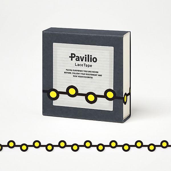 【日本Pavilio】風格膠帶MINI系列F-MI07MY魚卵黃捲