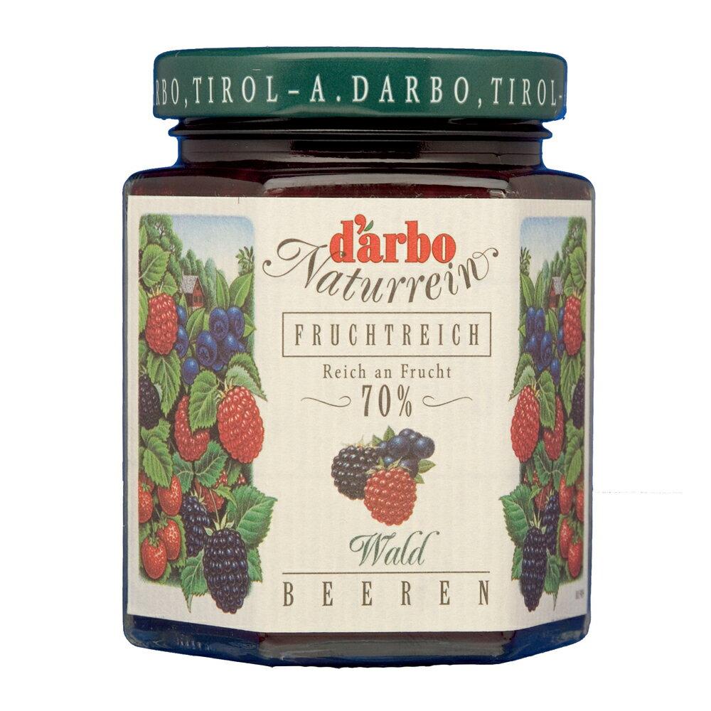★滿555領券現折55【Darbo】德寶70%果肉天然森林莓果果醬 200g (一入)