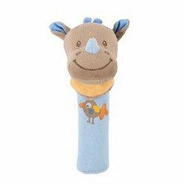 Nattou - 絨毛造型柱型bibi玩偶/路易