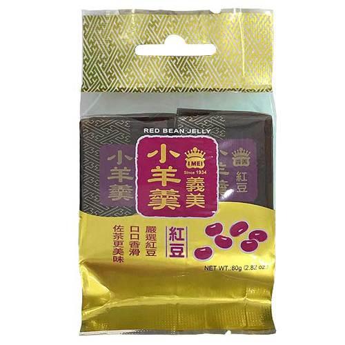 義美 小羊羹-紅豆 (40gx2入)/包