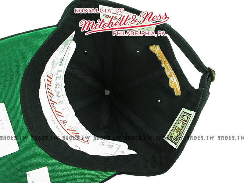 《下殺6折》Shoestw【5056036186930】Mitchell&Ness 老帽 NBA勇士隊 黑 Golden State 1
