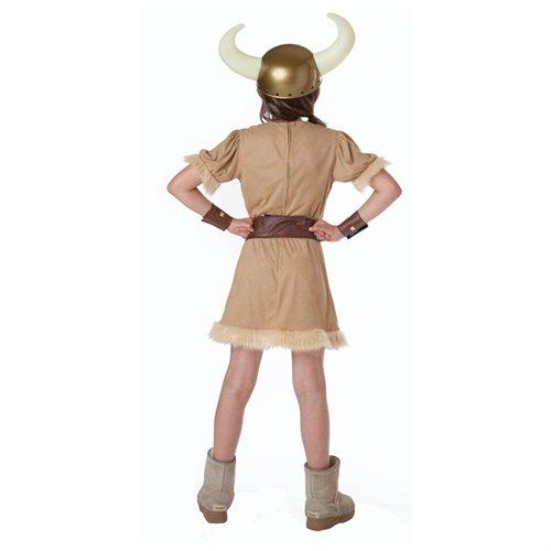 Barbarian Girl Child Halloween Costume 2