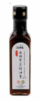 有機台灣原生種黑豆蔭油膏210ml
