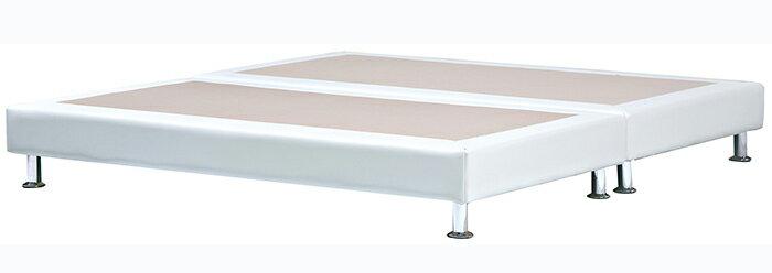 【尚品傢俱】HY-A202-11 白色6尺皮革床底