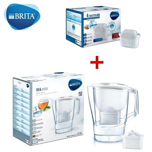 BRITA 濾水壺3.5L+濾芯5入