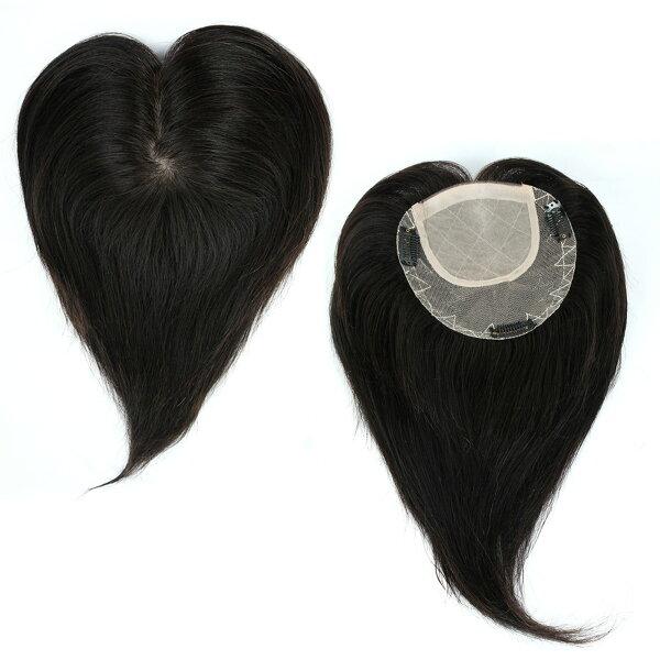 雙兒網:內網約15X14公分髮長約30公分100%真髮微增髮輕量補髮塊女仕【RT36】☆雙兒網☆