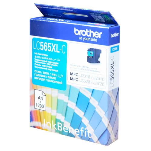 Brother LC565XL-C 藍色高容量複合機墨水匣