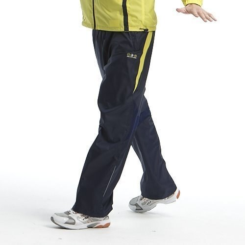 ON SALE↘36折【【H.Y SPORT】SASAKI夜間反光防潑水功能平織運動長褲852174 丈青+巴西黃