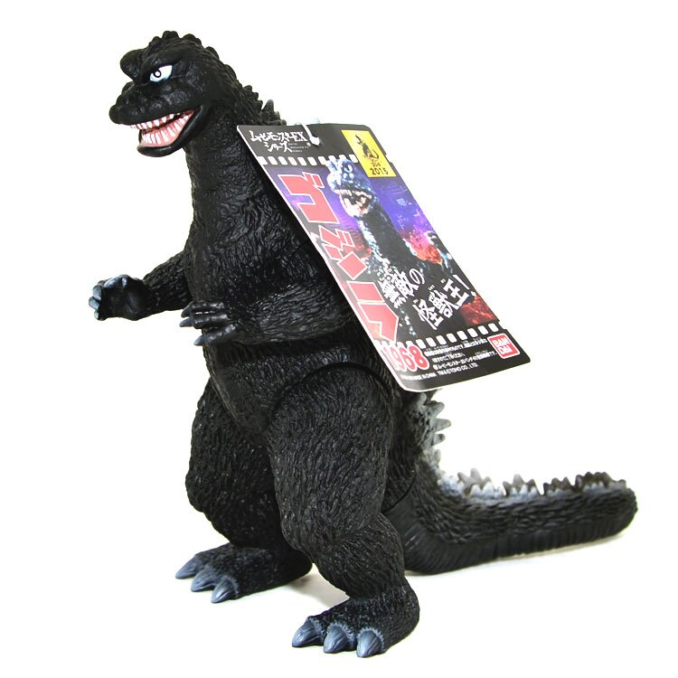 哥吉拉 酷斯拉 Godzilla 1968年電影版本 軟膠 日本帶回