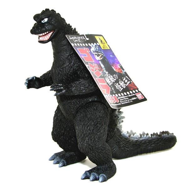 哥吉拉酷斯拉Godzilla1968年電影版本軟膠日本帶回