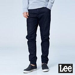 Lee  合身標準小直筒牛仔褲/UR-男款-牛仔藍