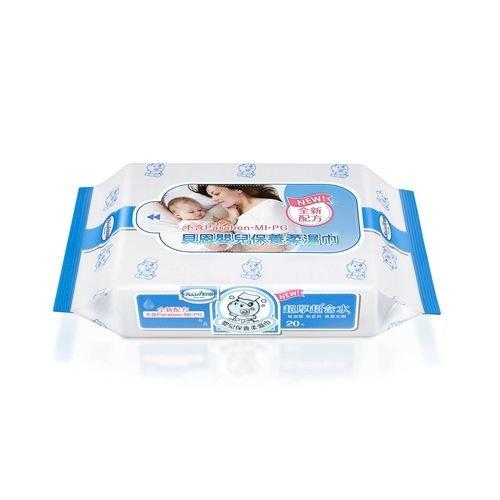 貝恩嬰兒保養柔濕巾-無香料20抽*3包『121婦嬰用品館』