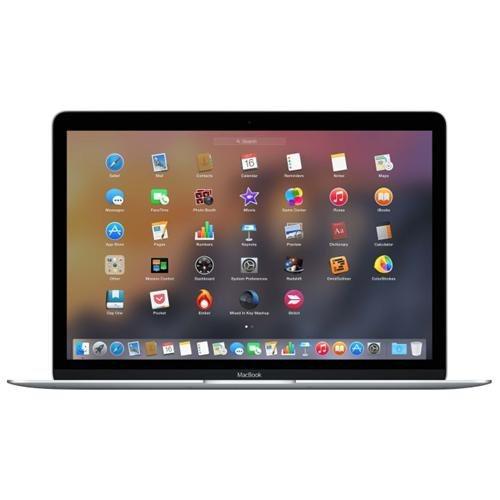 "Apple MacBook MLHC2LE/A 12"" Notebook - Intel Core M Dual-core (2 Core) 1.20 GHz - 8 GB LPDDR3 - 512 GB SSD - Mac OS X 10.11 El Capitan - 2304 x 1440 - Retina Display, In-plane Switching (IPS) Technology - Silver - Intel HD Graphics 515 LPDDR3 - Bluetooth"