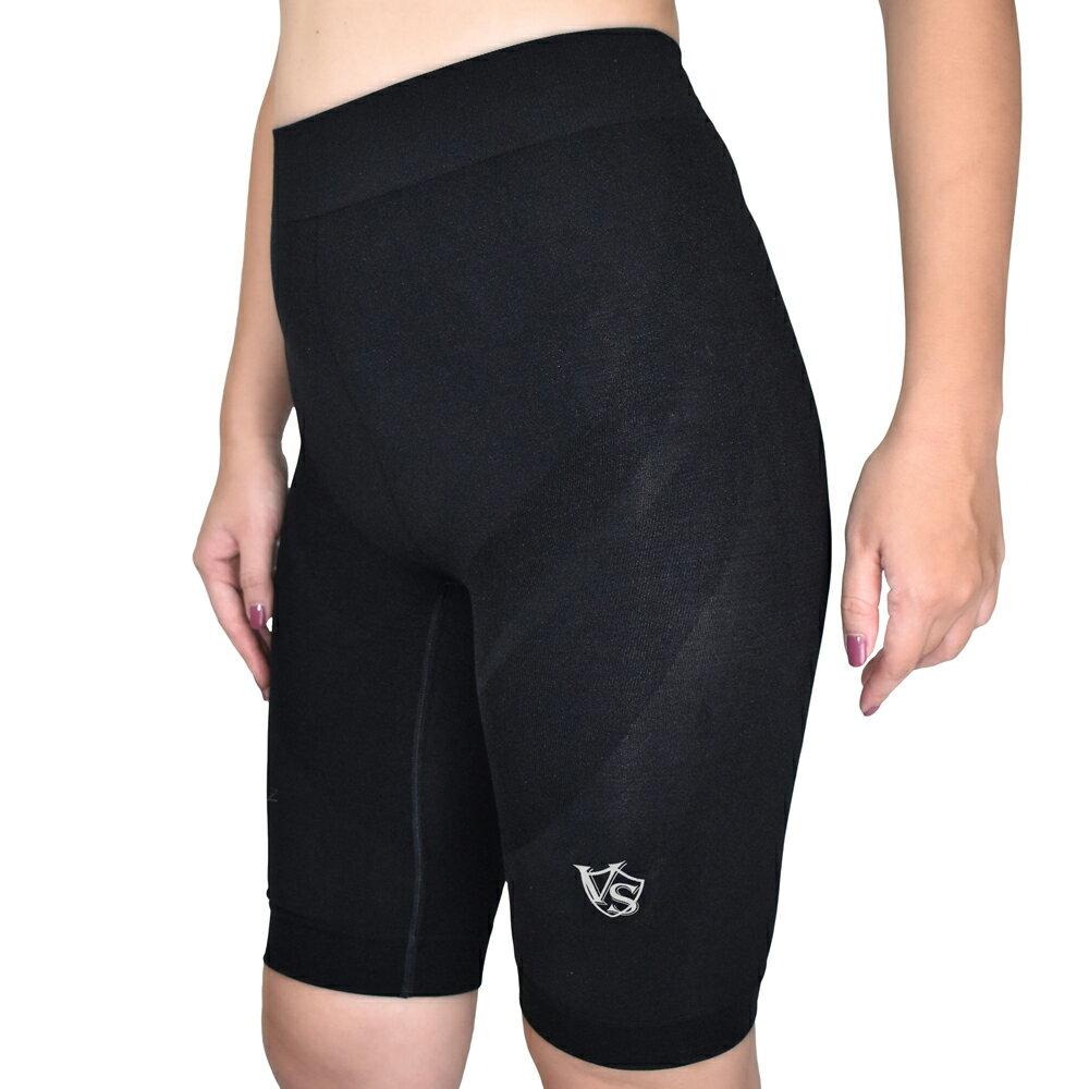 【VITAL SALVEO】女超彈力無縫壓縮機能短褲-台灣製造 0