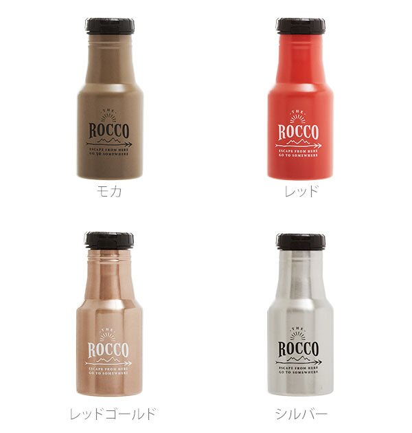 日本ROCCO / 不鏽鋼保溫瓶 / 7.3×17.8cm / rocco350。共5色-日本必買 日本樂天代購(2268*0.3)。件件免運 4