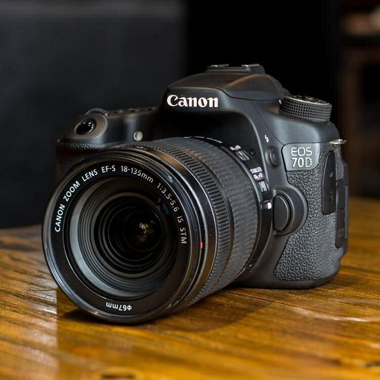 高清照相機全新 Canon / 佳能EOS 70D 80D中端級單反數碼照相機  高清旅遊60D DF 免運維多 0