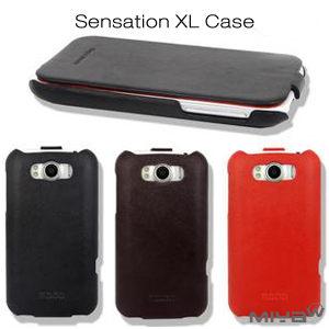 【MIYA米亞】Sensation XL G21 掀蓋真皮手機套(牛皮) (HTC 宏達電 素面 皮套 保護殼 手機殼 保護套)