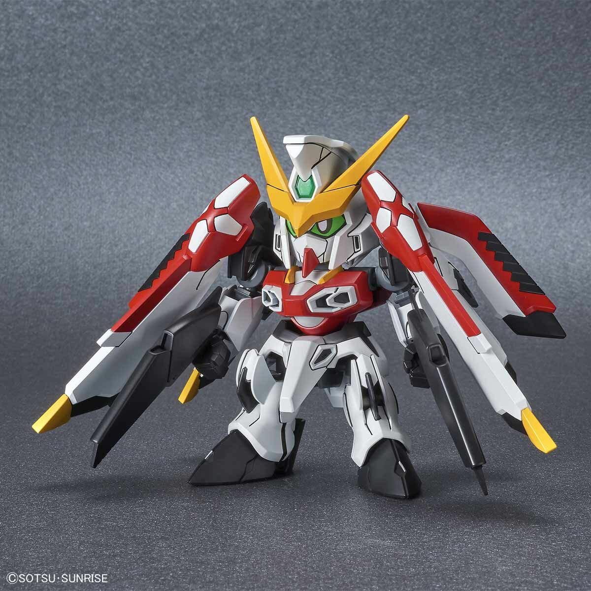 ☆勳寶玩具舖【現貨】萬代 BANDAI 組裝模型 SD鋼彈 SDCS #17 鳳凰鋼彈 Phoenix Gundam