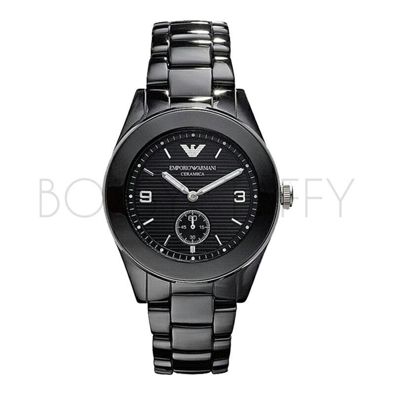 AR1422 ARMANI 亞曼尼 陶瓷時尚潮流石英錶 男錶