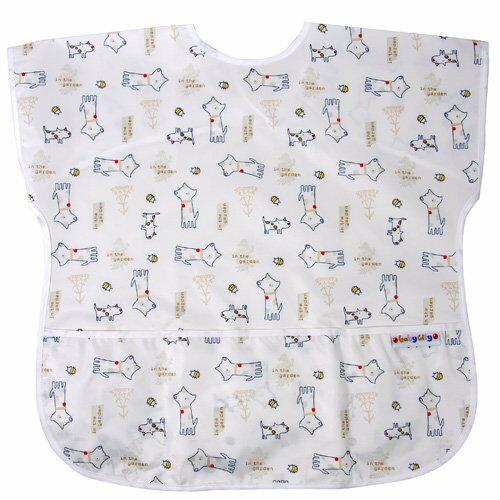【點數下單送咖啡】Baby City娃娃城 - 防水短袖畫畫衣(3-5A) 米色狗 0