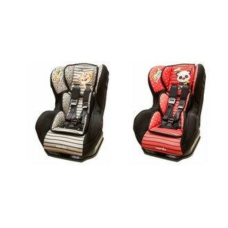 『121婦嬰用品館』NANIA 納尼亞旗艦0-4歲安全汽座-卡通動物系列 熊貓紅(安全座椅)FB00386