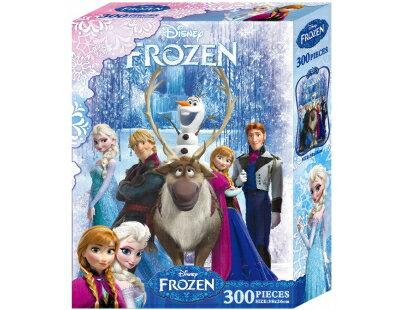 冰雪奇緣300片盒裝拼圖(A)