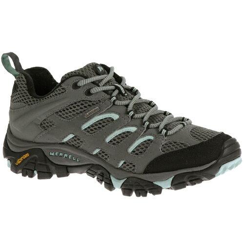 ├登山樂┤美國MERRELLMOABGORE-TEX女健行用運動鞋-灰藍#ML32674