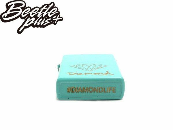 BEETLE DIAMOND LIGHTER ZIPPO 蒂芬妮金 黑金 打火機 Z00DAZ13-BLK BLUE 2
