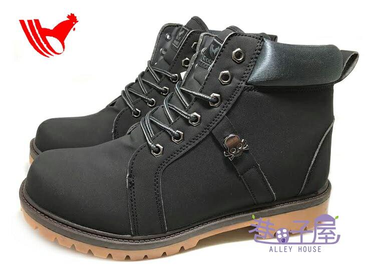 【巷子屋】ROOSTER公雞 男款經典黃靴 戰鬥靴 登山運動鞋 [7617] 黑 超值價$690