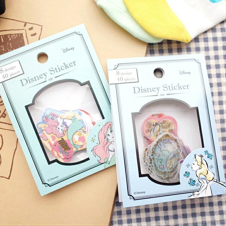 PGS7 拍立得 裝飾貼紙 - 日本 迪士尼 貼紙包 裝飾 貼紙 愛麗兒 小美人魚 愛麗絲 Alice【SHJ7167】