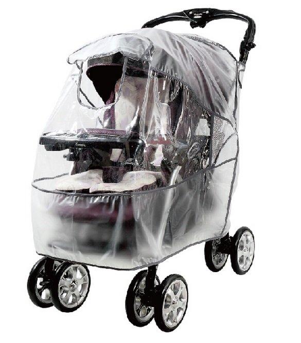 台灣【ViVibaby 】嬰兒車防雨罩 (L)-加大型 - 限時優惠好康折扣