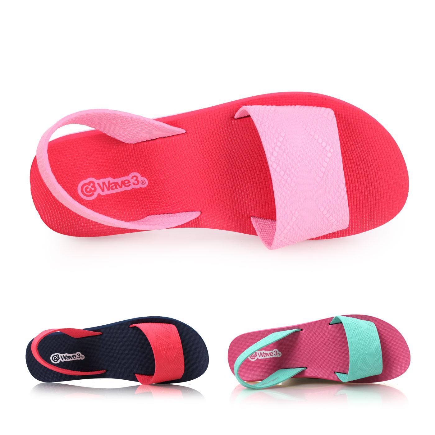 WAVE3 女瑜珈墊涼鞋 拖鞋 製~02014606~≡排汗 ≡