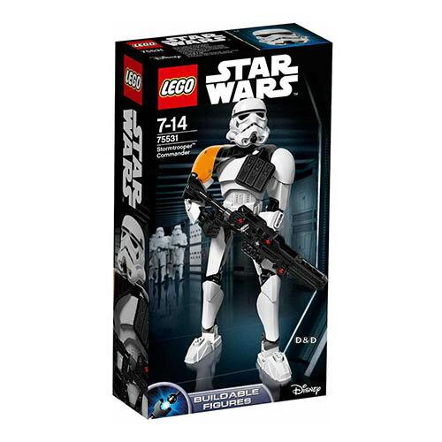 樂高積木 LEGO《 LT75531 》2017年STAR WARS 星際大戰系列 - 風暴兵指揮官