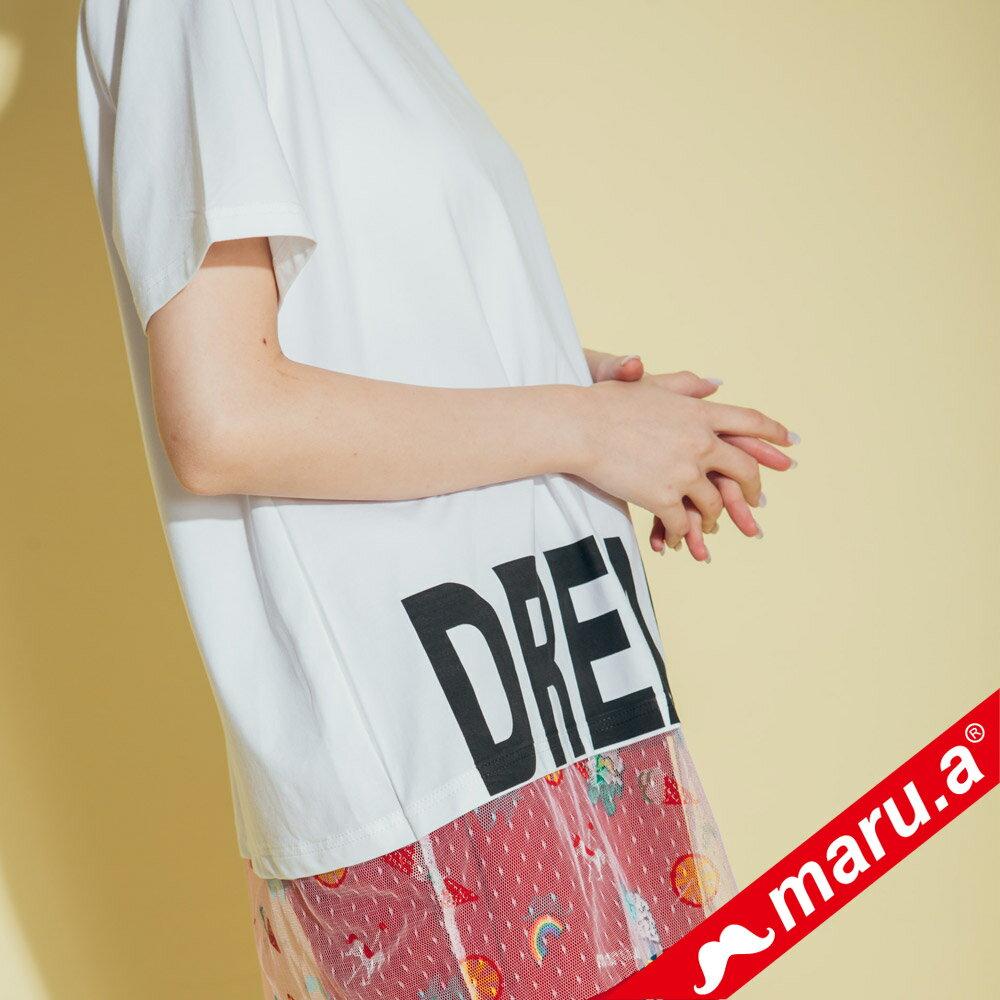 【maru.a】dreamer印花上衣 8311316 1