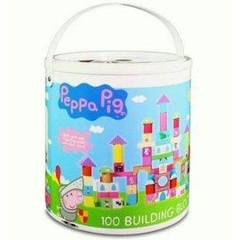 到貨了!】【粉紅豬小妹】-配對圓形桶裝積木組100片799元