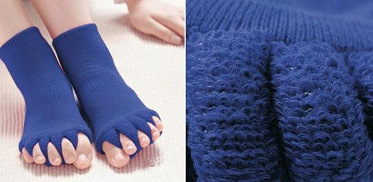 日韓五趾健康分開按摩襪