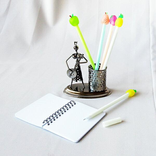 【aifelife】矽膠水果中性筆細字中性筆造型原子筆創意文具廣告筆簽名筆婚禮小物贈品禮品