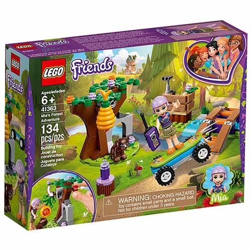 樂高LEGO 41363 Friends 姊妹淘系列 - 米雅的森林探險 - 限時優惠好康折扣