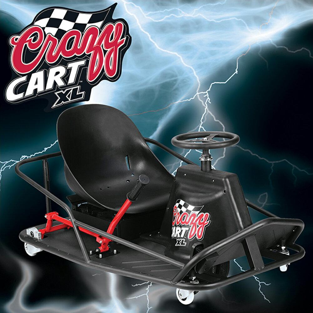 【Razor】Crazy Cart XL爆甩卡丁車 / 甩尾車 (買再送美國KaZAM 滑步車)