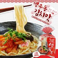 韓國泡麵推薦到【韓太】韓式手打烏冬麵-泡菜(1袋3包入) x 2袋入就在K-Mart推薦韓國泡麵
