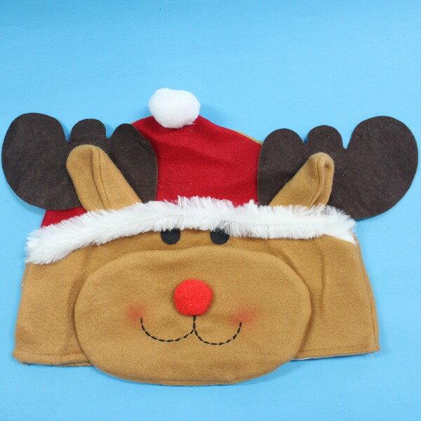 造型聖誕帽 麋鹿造型帽(紅帽子)/一個入{促80}~5847